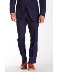 Ben Sherman Navy Blue Pinstripe Wool Suit Separates Pant