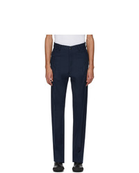 Random Identities Navy High Waisted Trousers