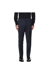Hugo Navy Striped Hesten Trousers