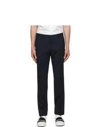 BOSS Navy Wool Ben2 Trousers