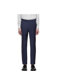 Ermenegildo Zegna Navy Wool Suit Trousers