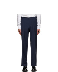 Hugo Navy Wool Trousers