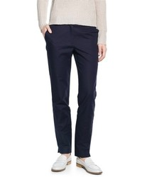 Mango Outlet Cotton Suit Trousers
