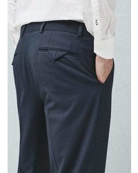 Mango Outlet Regular Fit Suit Trousers