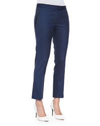 Joseph Savvy Wool Suiting Pants Navyblack
