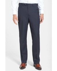 Berle Self Sizer Waist Tropical Weight Trousers