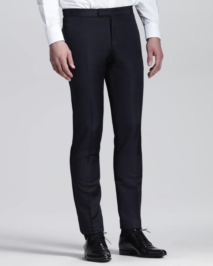 Lanvin Side Stripe Evening Trousers