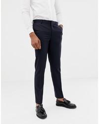 ASOS DESIGN Skinny Tuxedo Suit Trousers In Navy