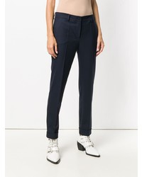 P.A.R.O.S.H. Slim Fit Cropped Trousers