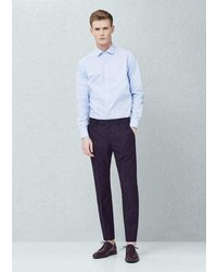 Mango Outlet Slim Fit Suit Trousers