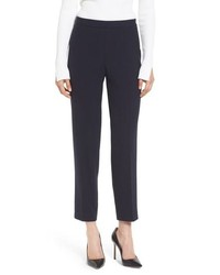 BOSS Tiluna Side Zip Ponte Ankle Pants
