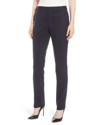 BOSS Titana Tonal Stripe Stretch Wool Trousers