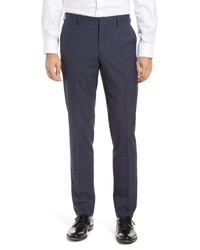 Nordstrom Men's Shop Trim Fit Melange Dress Pants