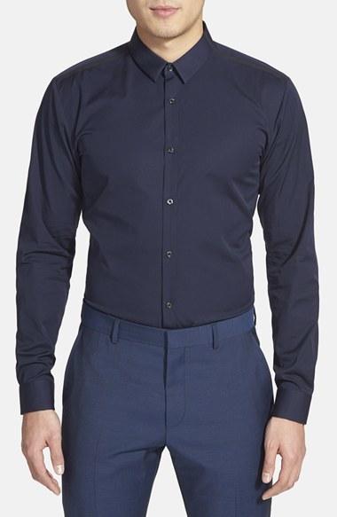 aed1f1e4d42 Hugo Boss Hugo Ero 3 Slim Fit Sport Shirt