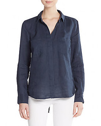 Linen hi lo shirt medium 572933
