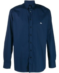 Etro Logo Button Down Shirt