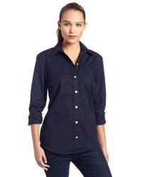 Dickies Long Sleeve Stretch Poplin Shirt