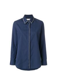 Piped trim shirt medium 7801884