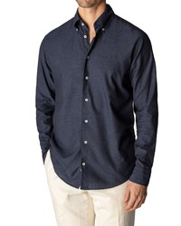 Eton Soft Casual Slim Fit Flannel Shirt