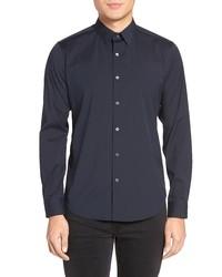Theory Sylvain Slim Fit Button Up Dress Shirt