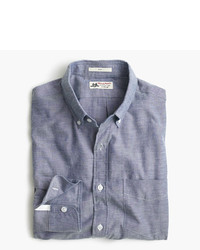 Thomas Mason Slim For Jcrew Shirt In Brushed Oxford