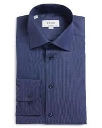 Trim fit solid dress shirt medium 3995951