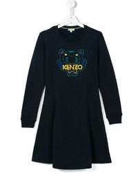 Kenzo Kids Tiger Sweatshirt Dress