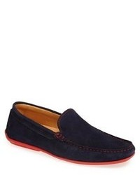 Navy Driving Shoes