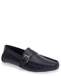 Calvin Klein Logo Embossed Driving Loafer