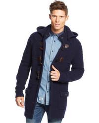 Armani Jeans Hooded Toggle Sweater