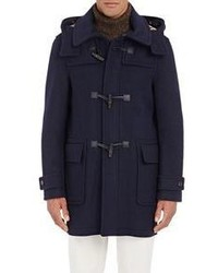 Aquascutum London Aquascutum Henward Toggle Coat Navy
