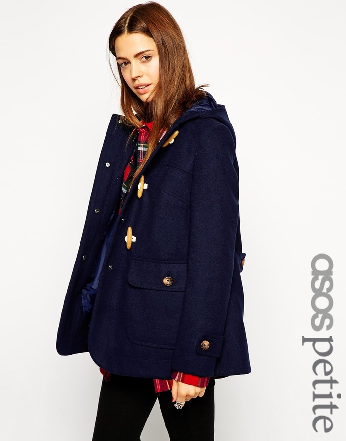 Asos Petite Ultimate Hooded Duffle Coat | Where to buy & how to wear