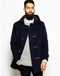 Men's Navy Duffle Coats from Asos | Men's Fashion