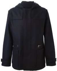 Lanvin Zipped Up Duffle Coat