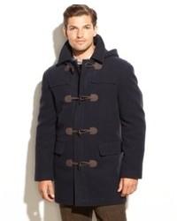Lauren ralph lauren lauren by ralph lauren coat landau toggle wool blend overcoat medium 82440