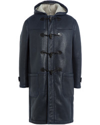 Joseph Leather Duffle Coat