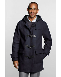 Lands' End Regular Wool Commuter Duffle Coat