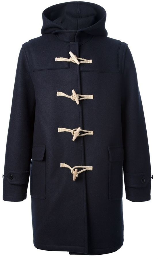 Saint Laurent Western Duffle Coat