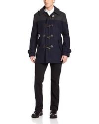 Izod Toggle Coat With Hood
