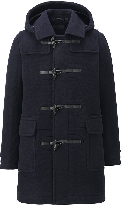 Uniqlo Wool Blended Duffle Coat