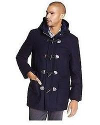 Tommy Hilfiger Wool Melton Toggle Coat