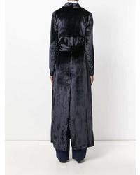 Galvan Velvet Trench Coat