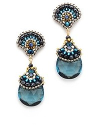 Miguel Ases Aqua Earrings
