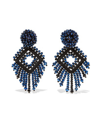 Bibi Marini Deco Bead And Silk Earrings
