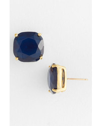 kate spade new york Stud Earrings Navy Gold