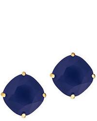 Kate Spade New York Navy Blue Gemstone Stud Earrings
