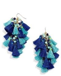 BaubleBar Rosalita Tassel Drop Earrings
