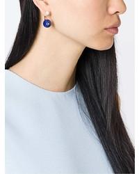 Delfina Delettrez Stone Edge Piercing Sapphire Earring