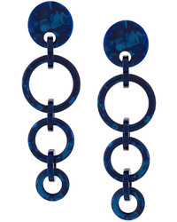 Lele Sadoughi Wind Chime Hoop Earrings
