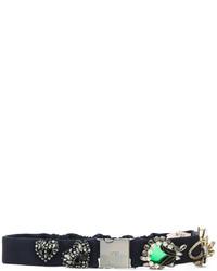 No.21 No21 Crystal Embellished Belt